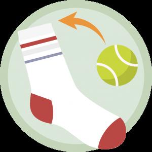 Sock and Ball DIY Dog Toys