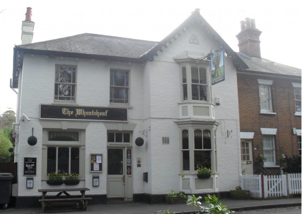 the wheatsheaf pub epsom